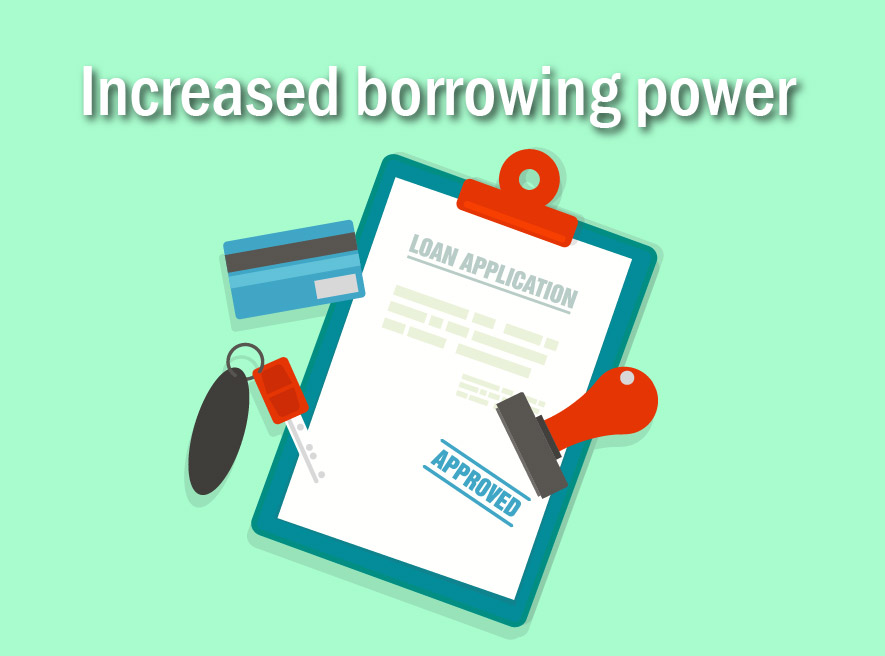Increasing your serviceability and borrowing power
